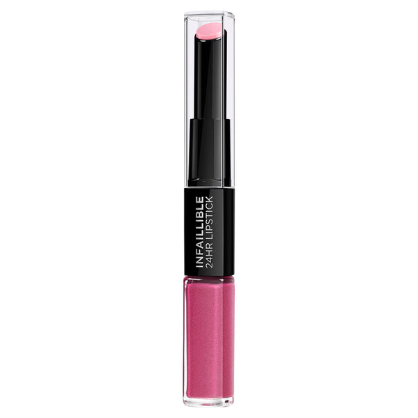 L'Oréal Paris Infallible 2-Step Lip Colour 121 Flawless Fuschia