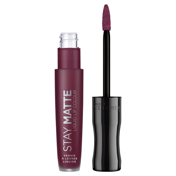 Rimmel London Stay Matte Liquid Lip Colour #800 MIDNIGHT