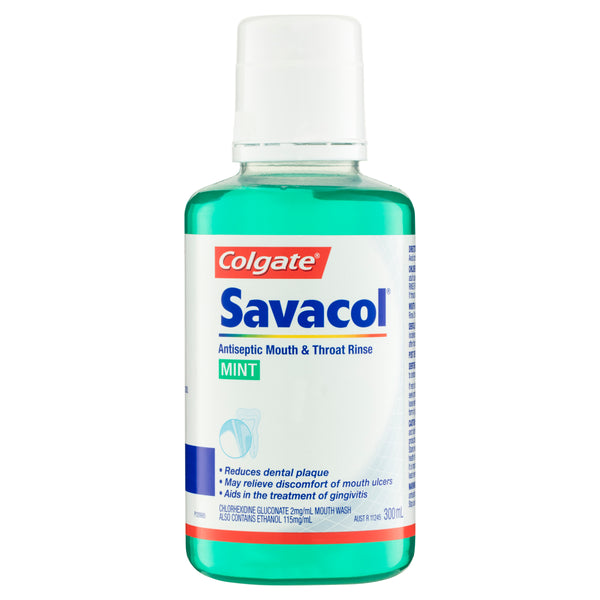 Savacol Mouthrinse Original 300mL