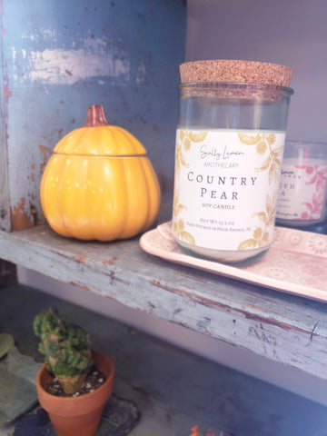 Country Pear 11oz Soy Candle