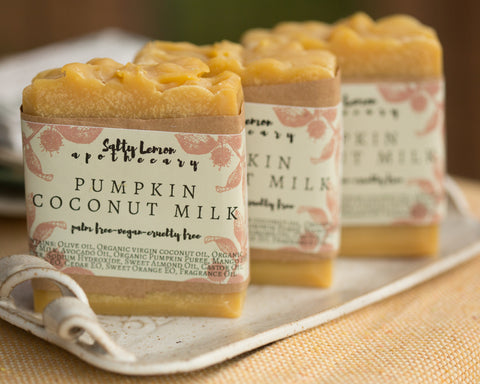 Pumpkin Coconut Milk- Handmade Soap