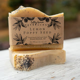 Lemon Poppy Seed- Handmade Soap (100% Natural)