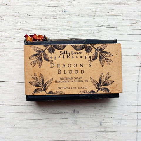 Dragon's Blood- Handmade Soap