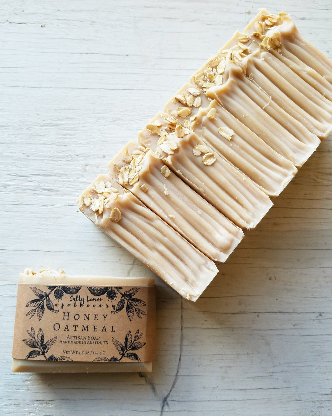 Honey Oatmeal- Handmade Soap