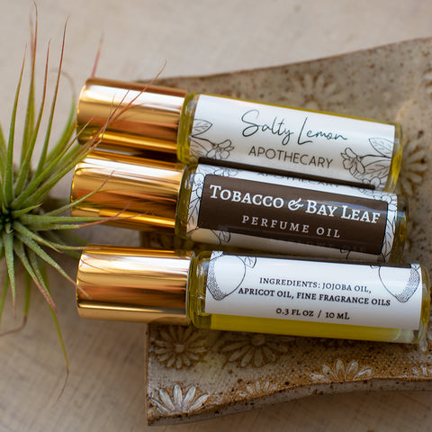Tobacco & Bay Leaf Perfume Oil