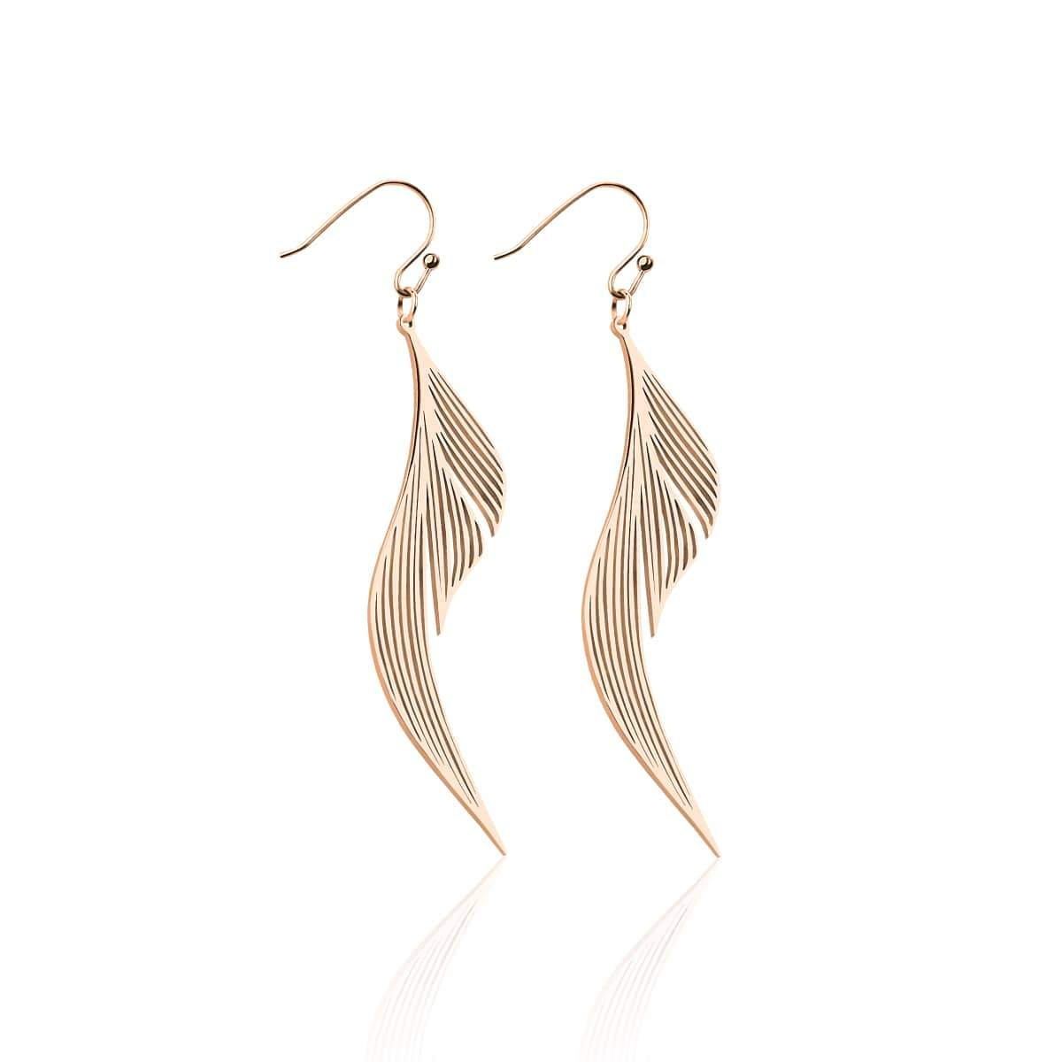 Wings | 18k Rose Gold | Gilded Earrings