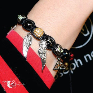 Harry Potter - Black Patronus Charmballa Bracelet