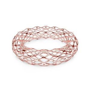 Le bracelet GRID | Double Slim | Or rose 14 carats