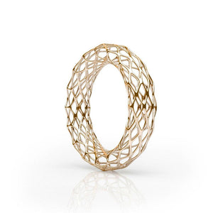 Le bracelet GRID | Double Slim | Or 14 carats