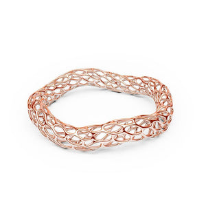 Le bracelet HIVE | Double Wave | Or rose 14 carats