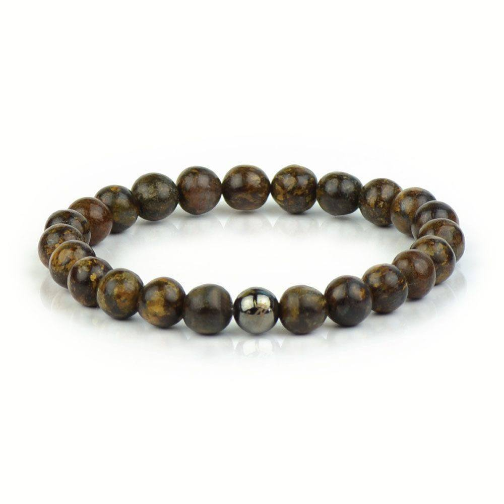Rock Steady Bronzite Bracelet - The Hendrix