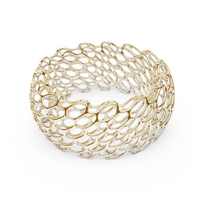 Le bracelet HIVE | Double largeur | Or 14 carats