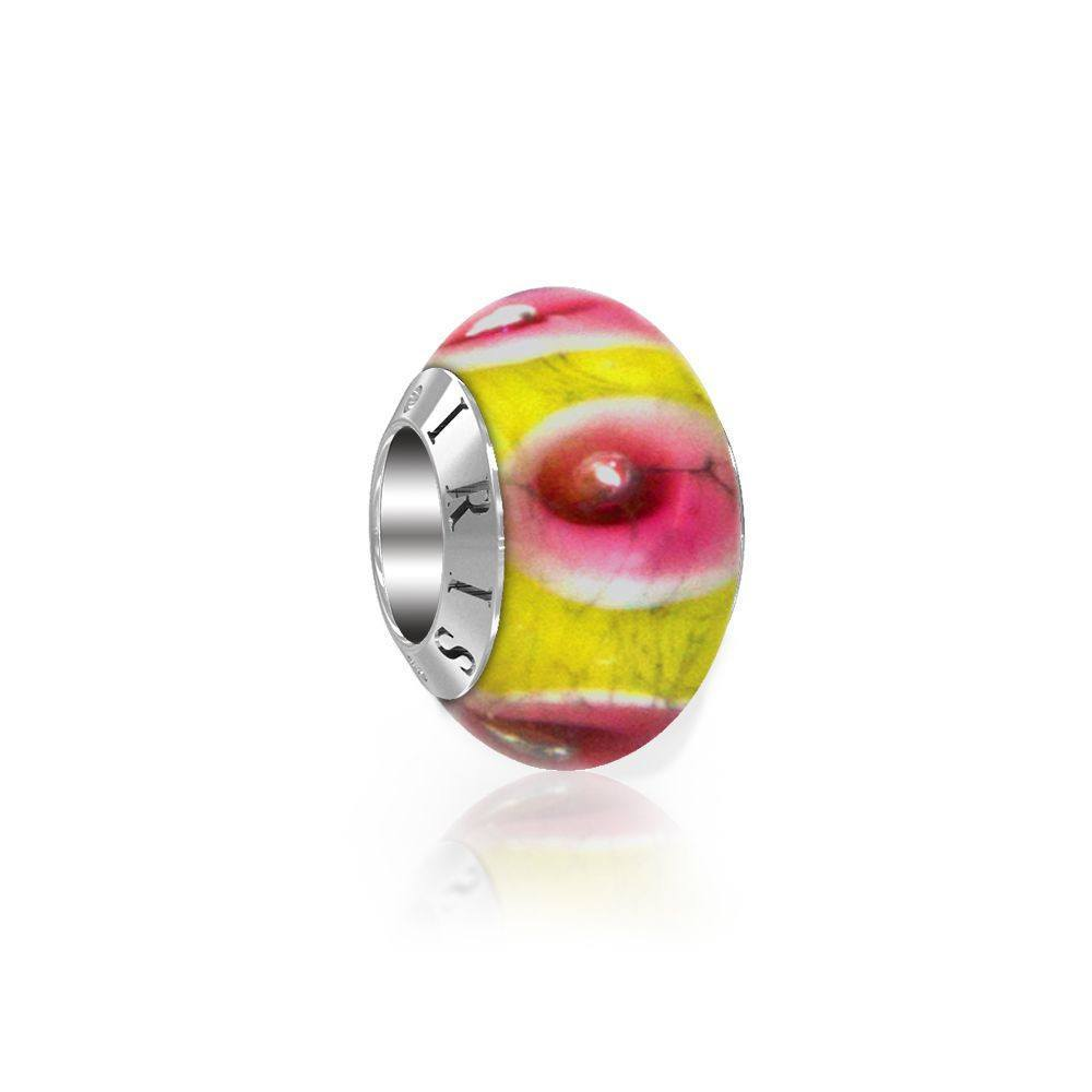 Ophelia - Yellow Murano Glass Bead from IRIS