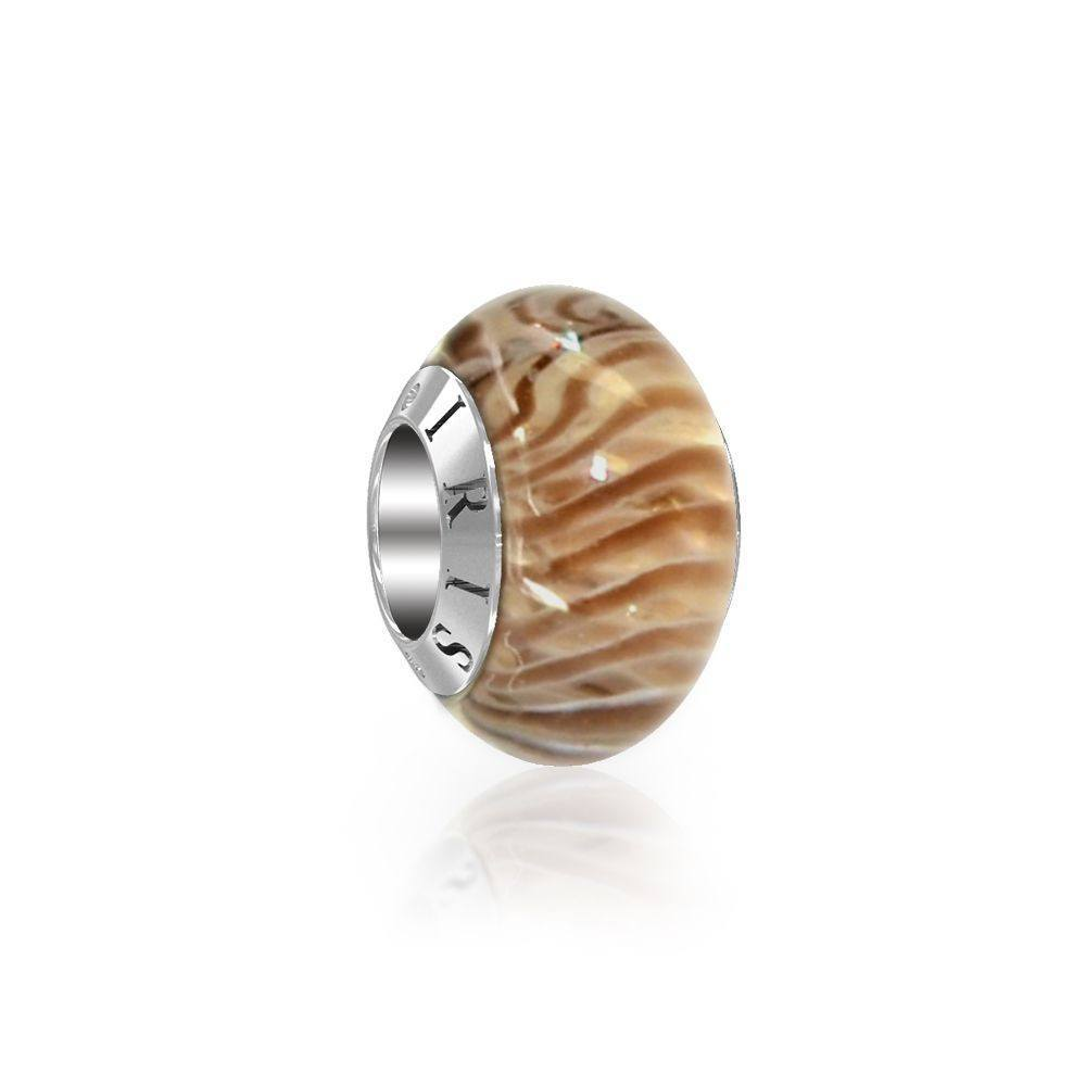 Susan - Caramel Sands Murano Glass Bead from IRIS