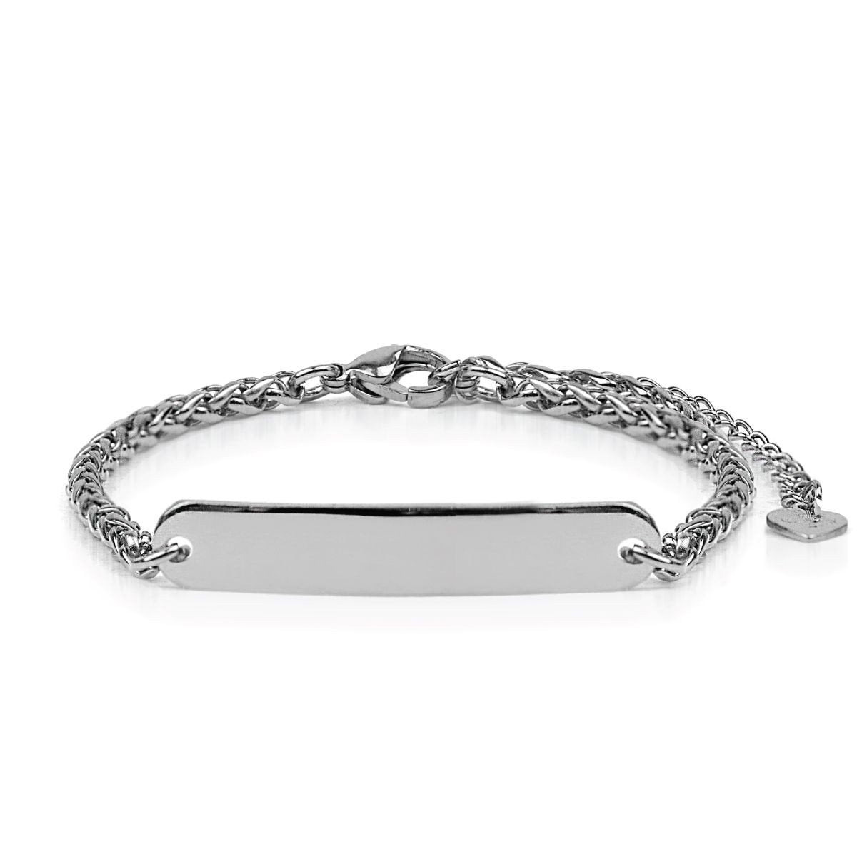 Silver | Custom Engravable | Kindred Spirits Chain Bracelet