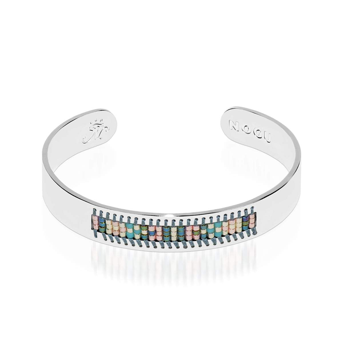 Newport Beach | Argent | Boho Bangle
