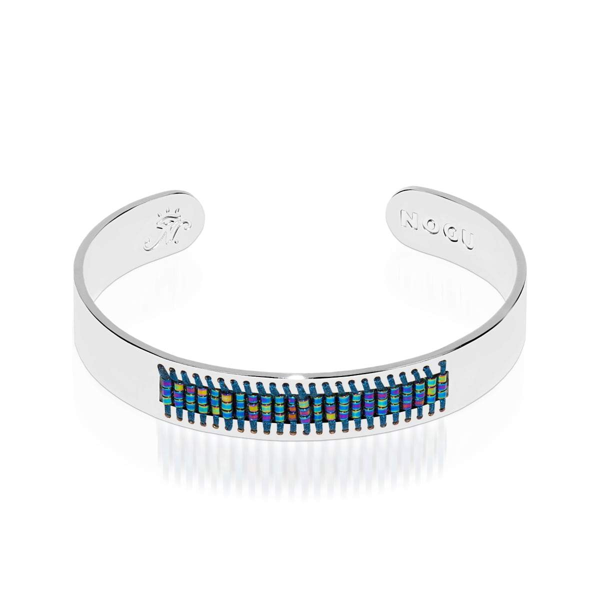 Manhattan Beach | Silver | Boho Bangle