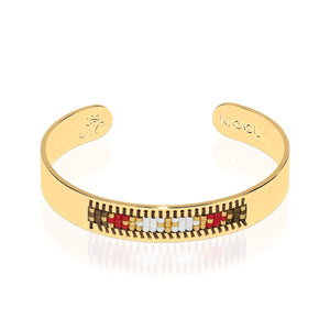 Palo Alto | Or 18 carats | Boho Bangle