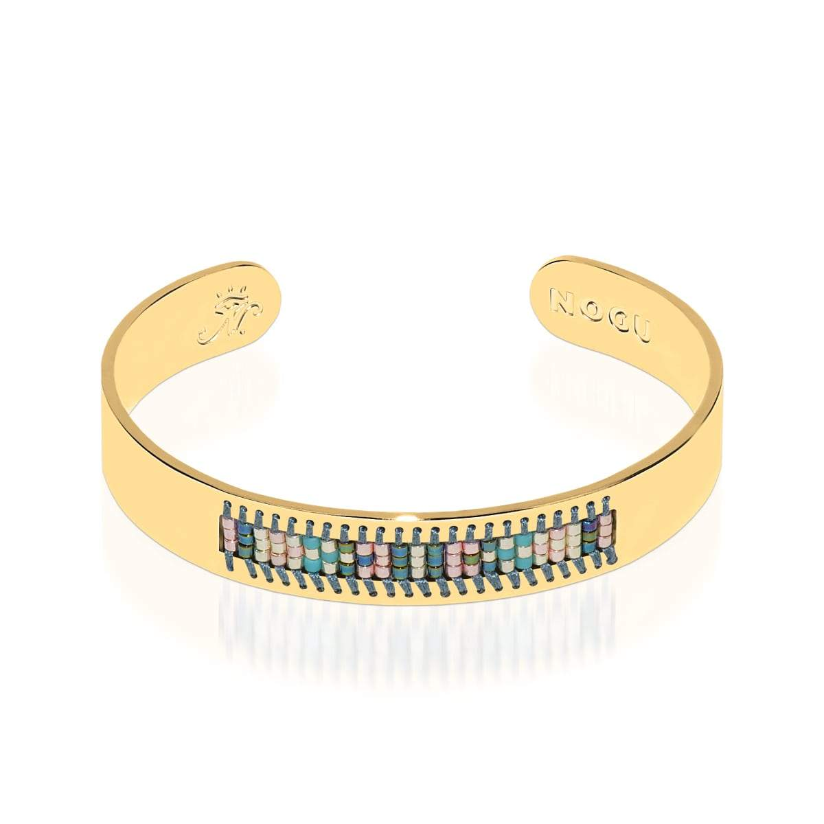 Newport Beach | 18k Gold | Boho Bangle