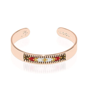 Palo Alto | Or rose 18 carats | Boho Bangle
