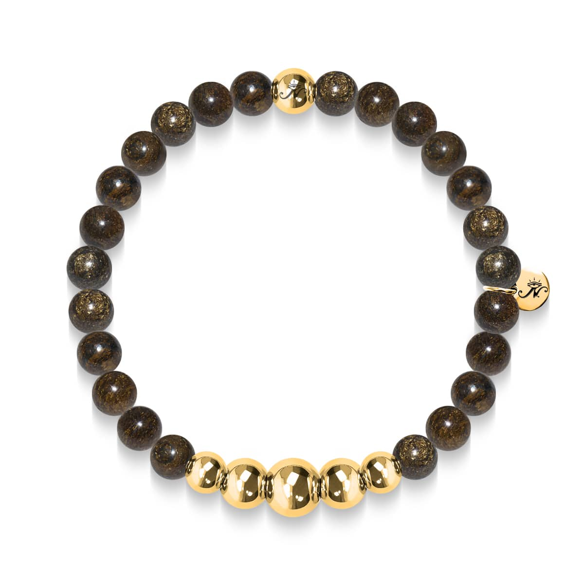 Rationnel | Bracelet doré Aura Bronzite