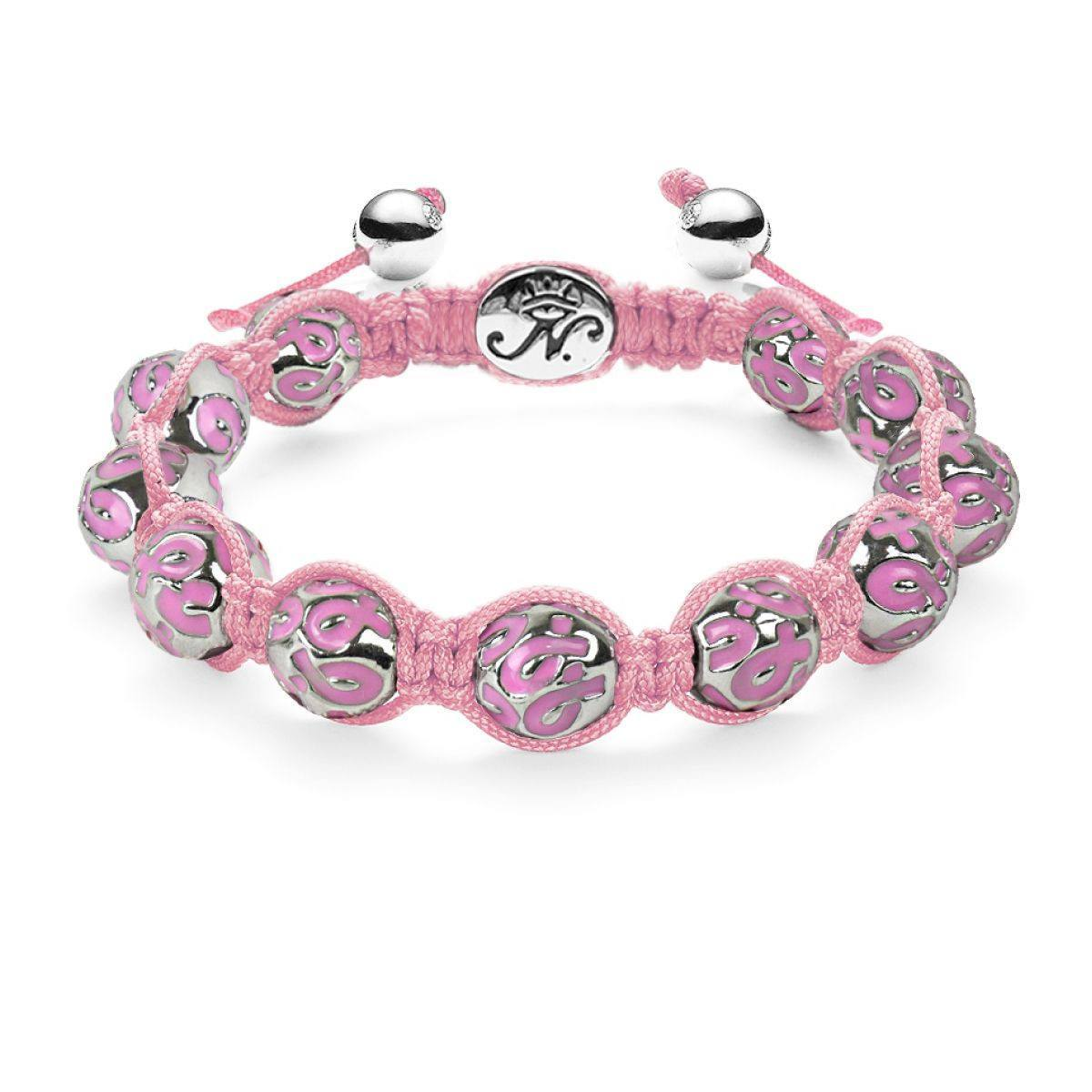 The Pink Ribbon Charmballa - Breast Cancer Awareness Bracelet from Joseph Nogucci