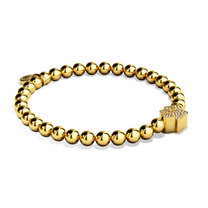Paw | 18k Gold | Crystal Pup Print