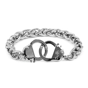 Stainless Steel | Chain Cuff Bracelet