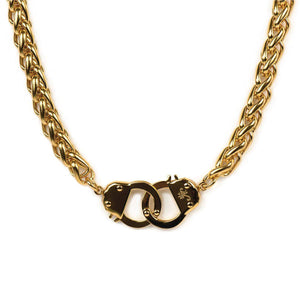 18k Gold | Chain Cuff Necklace