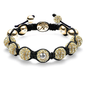 The Kikiballa Gold Black Bracelet
