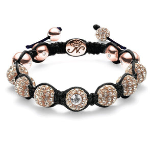 The Kikiballa Rose Gold Black Bracelet