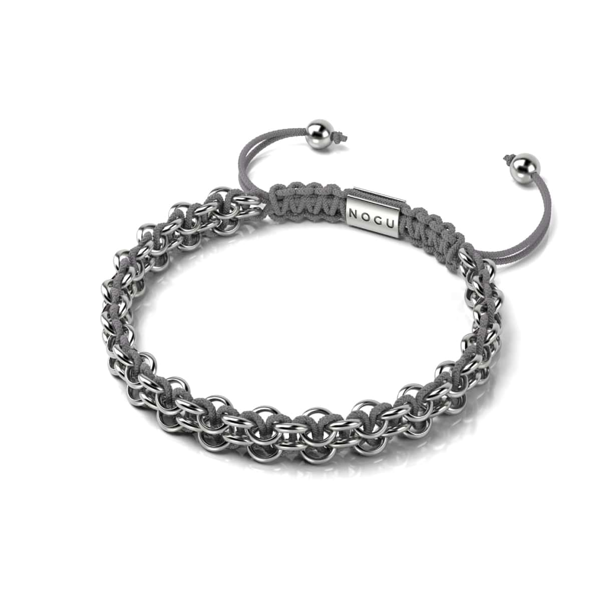 Kismet Links | Pantone Bracelet | Silver | London Fog