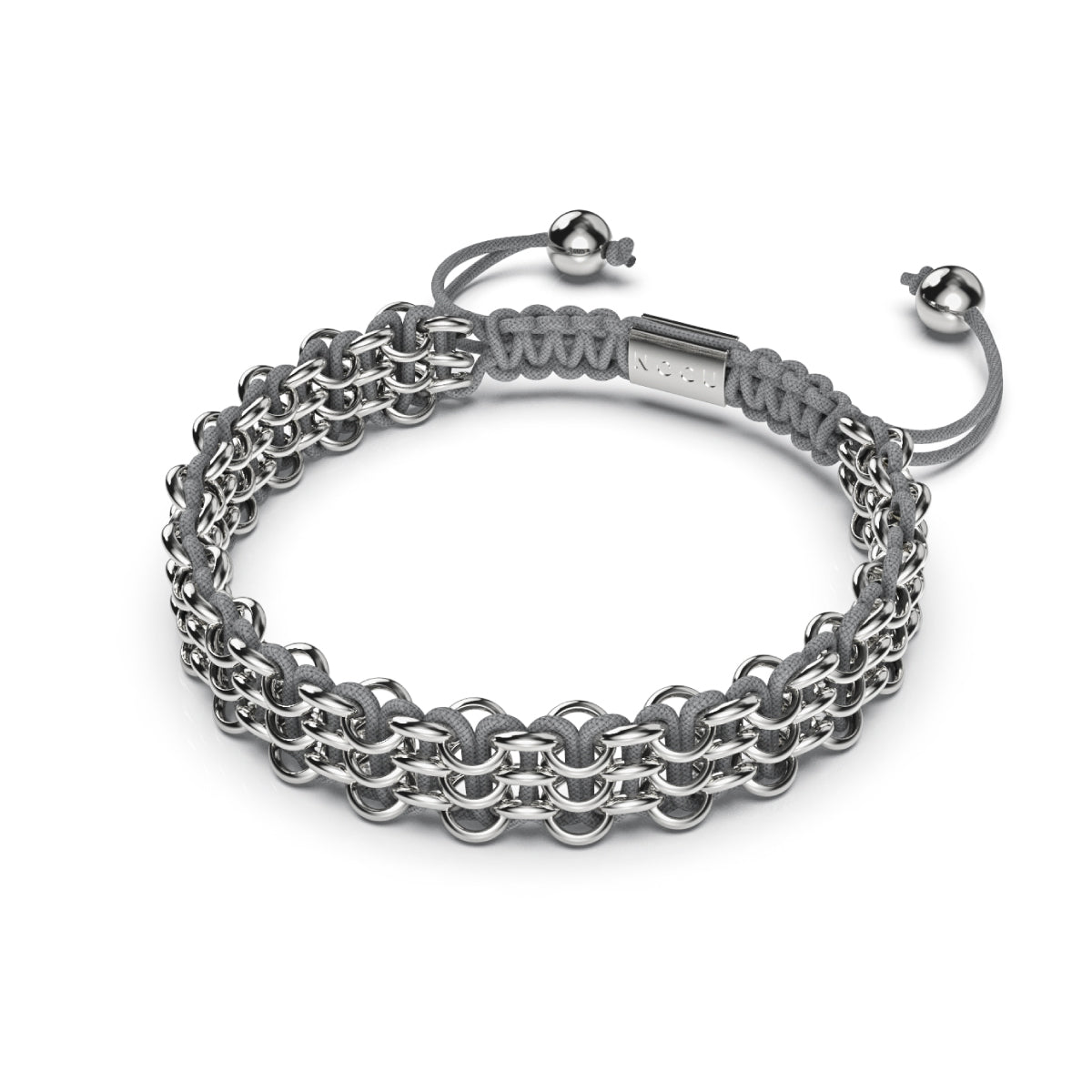 Supreme Kismet Links Bracelet | Silver | Grey