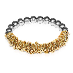 Silver | 18k Gold | Links of Love Bracelet