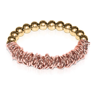 18k Gold | 18k Rose Gold | Links of Love Bracelet