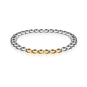 Extatique | Argent | Or 18 carats | Bracelet d'expression