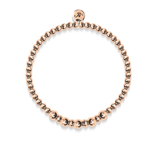 Charme | Or rose 18 carats | Bracelet d'expression