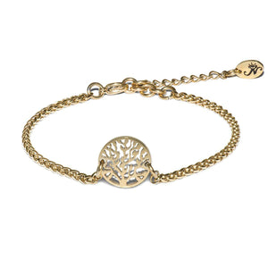 18k Gold | Tree of Life | Dolce Vita Charm Bracelet