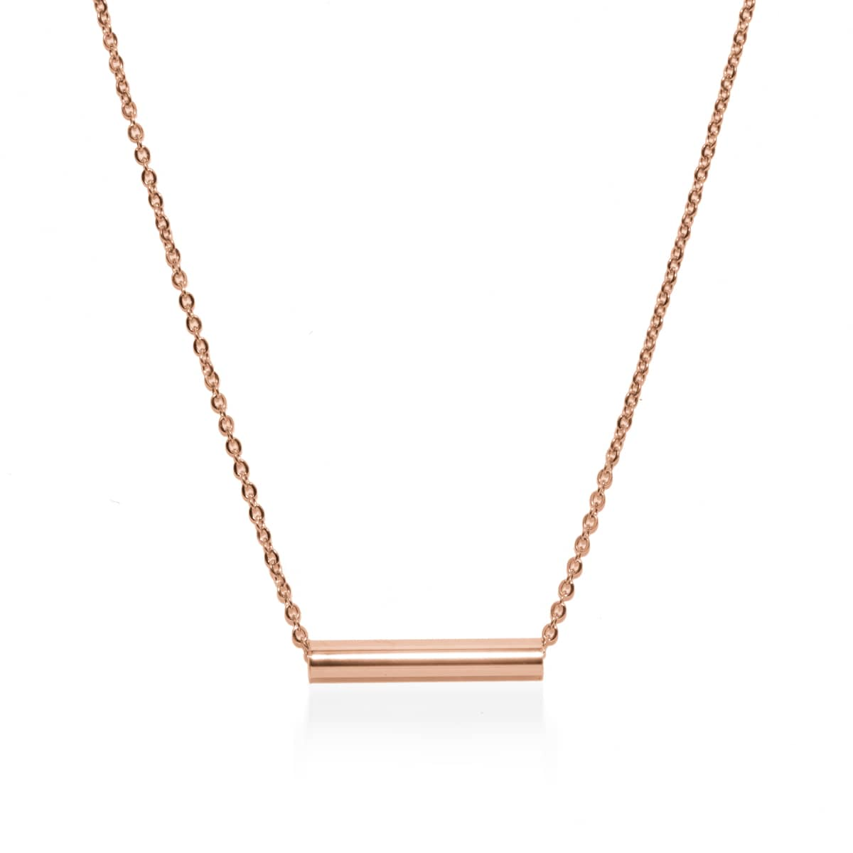 Minimaliste | Or rose 18 carats | Collier