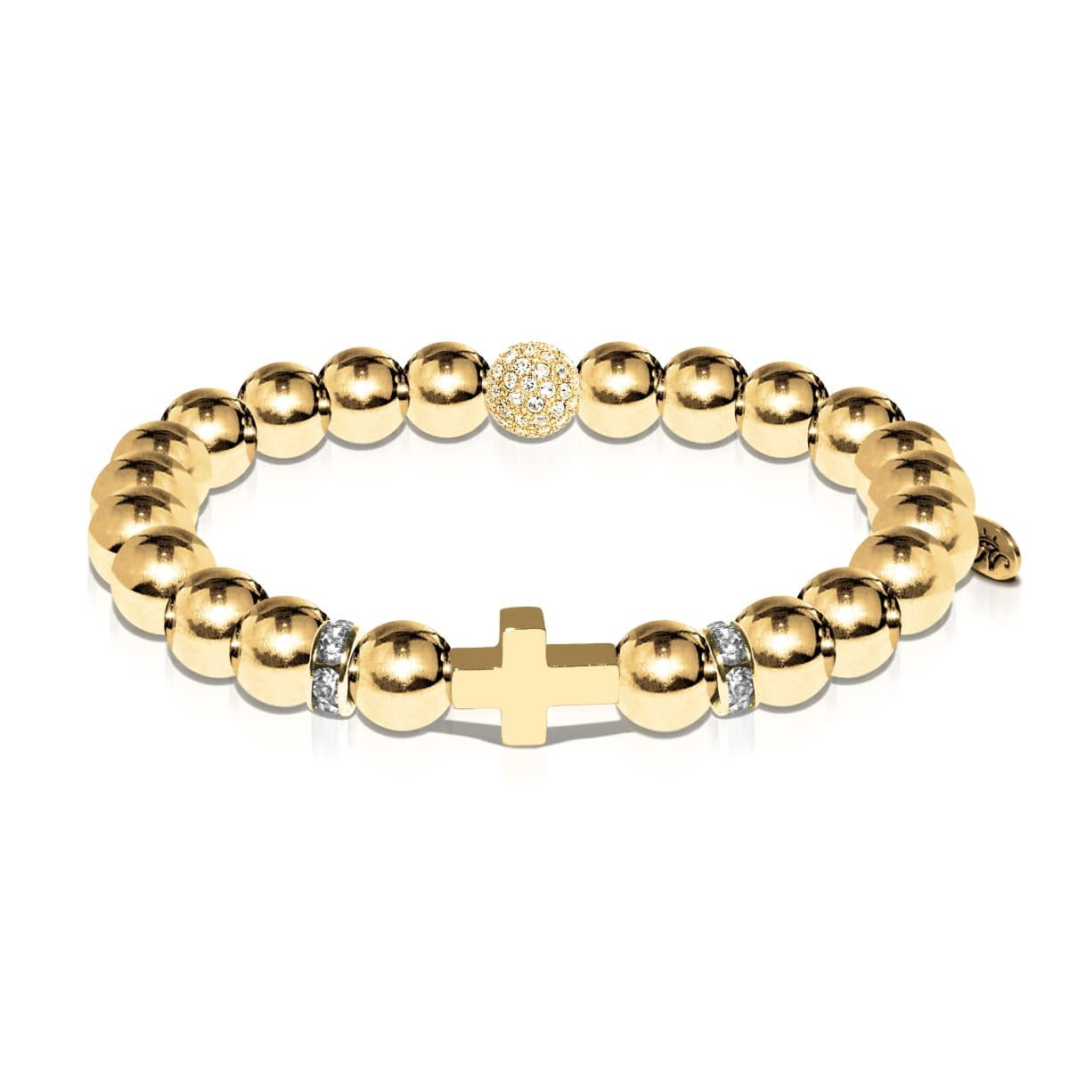 St. Paul | 18k Gold | Cross Bracelet