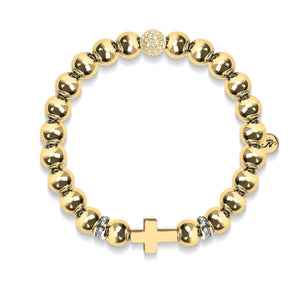 Saint-Paul | Or 18 carats | Bracelet croix
