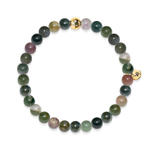 Méditation | Bracelet Agate indienne Gold Essence