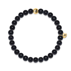 Energy | Gold Essence Blue Sand Stone Bracelet