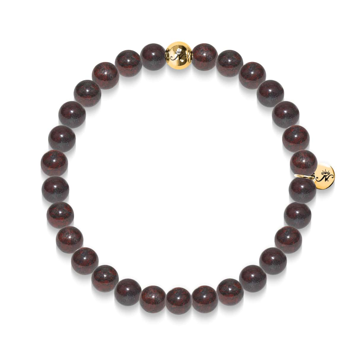 Strength | Gold Essence Breciated Jasper Bracelet