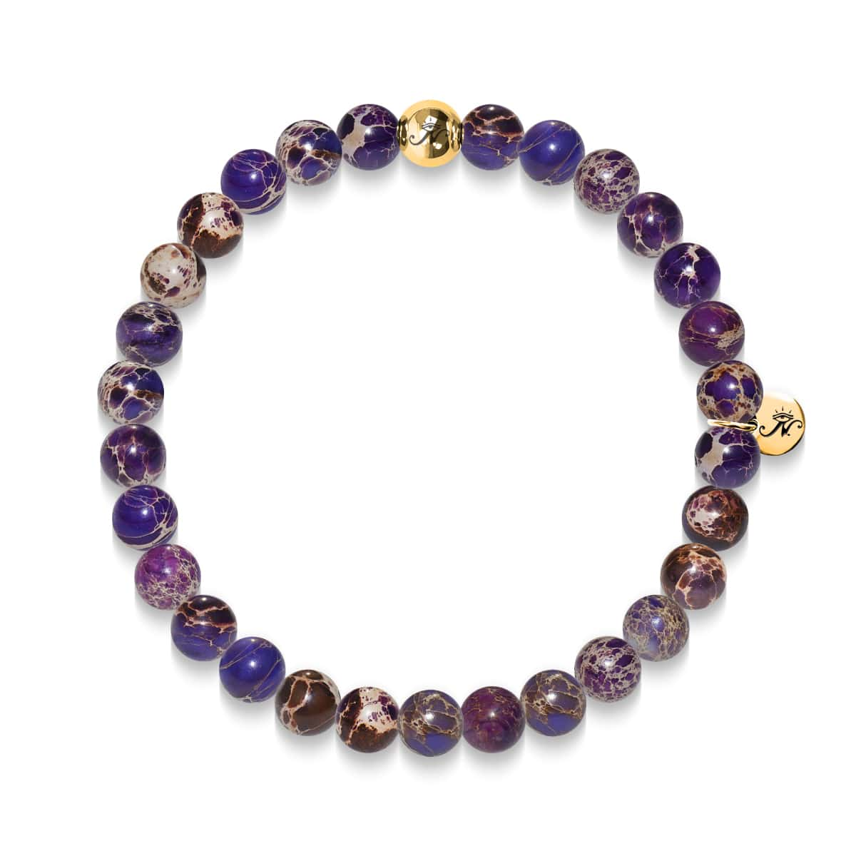 Wisdom | Gold Essence Purple Regarte Bracelet