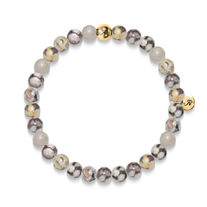 Security | Gold Essence Fossil Jasper Bracelet