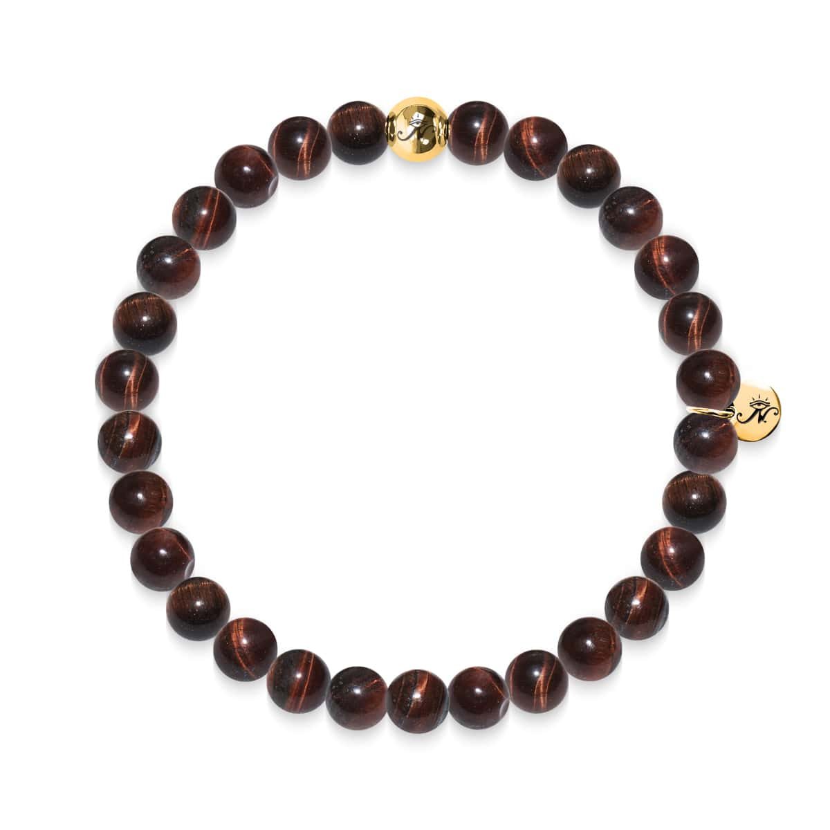 Noble | Gold Essence Red Tiger's Eye Bracelet