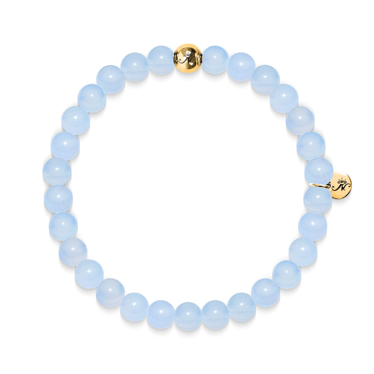 Pureté | Bracelet aigue-marine Gold Essence