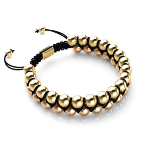 Two Tone Gold | Black | Vitality Bracelet