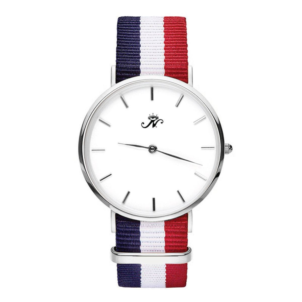 Royal York - Silver Timepiece with NATO Strap